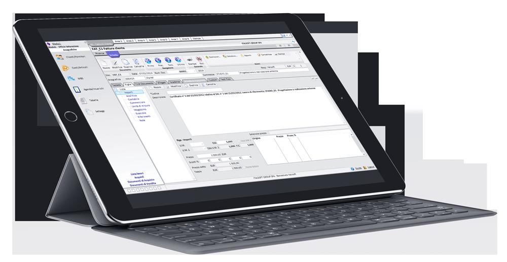 Topingegneria-software gestionale per studi e società di ingegneria - fatturazione