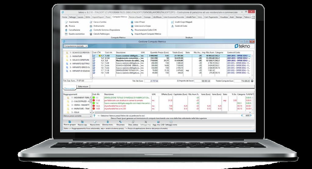 tekno - software per il computo metrico