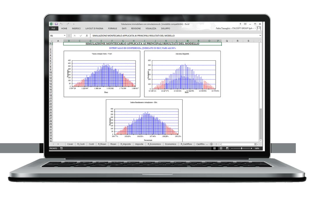 software gestionale imprese edili - simulazione montecarlo