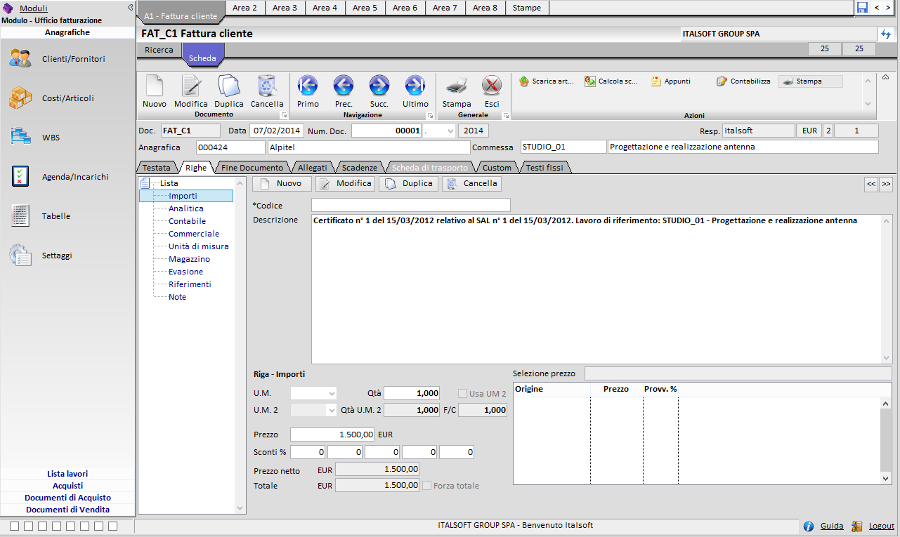 software gestionale per professionisti