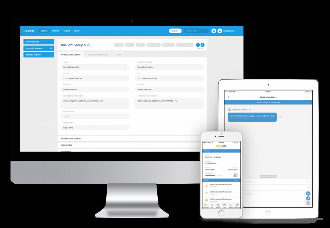 Collaboration software - gestione progetti e commesse