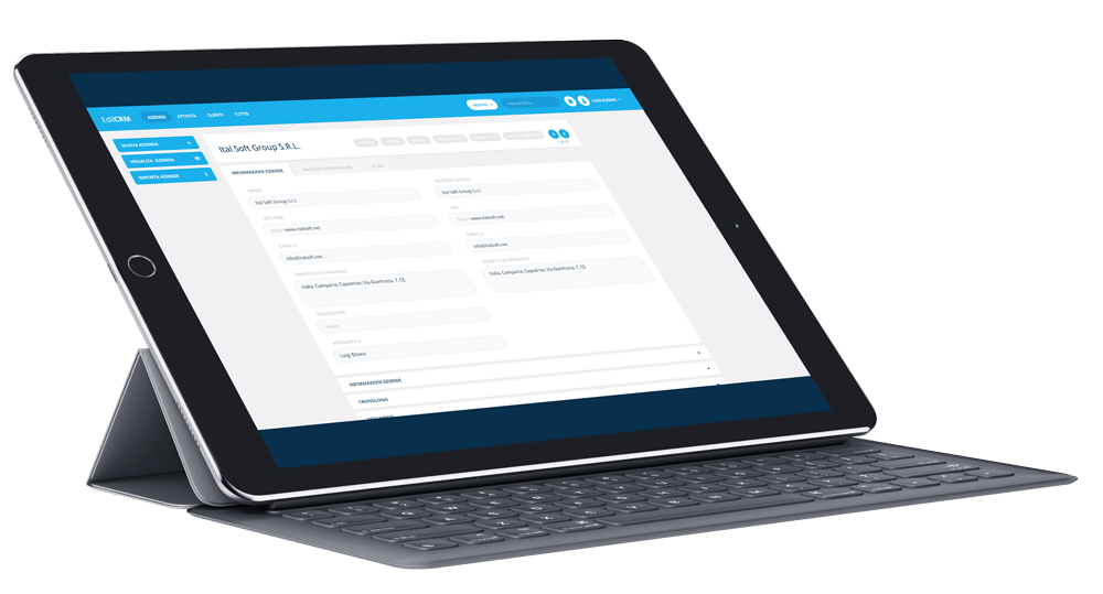EdilCRM gestione progetti e commesse di Italsoft Group