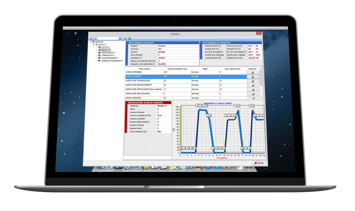Soluzioni software per studi tecnici-Termiko-One