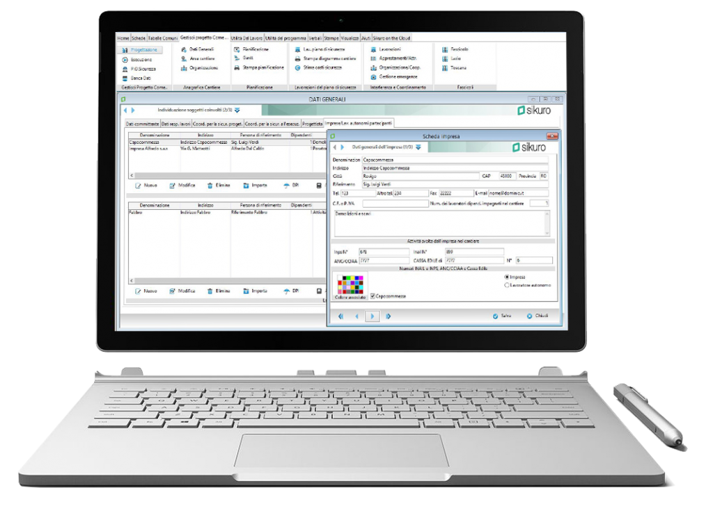 Soluzioni software per studi tecnici-sikuro