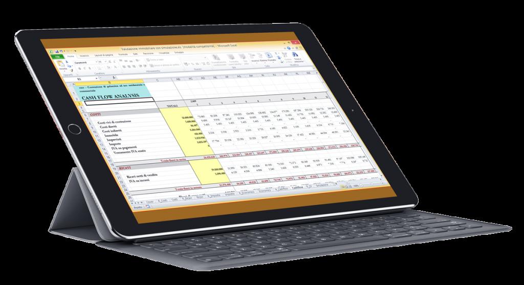Topimmobiliari - gestione valutazione delle operazioni immobiliari - Cash-flow business plan immobiliare