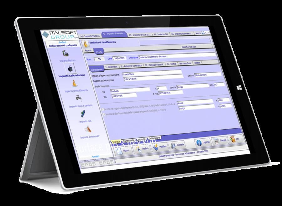 Conformità Easy - Software dichiarazione conformita