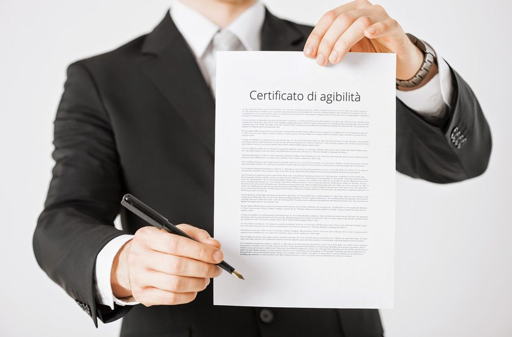 Certificazione agibilità