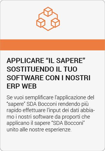 sostituire i sw con ERP Web